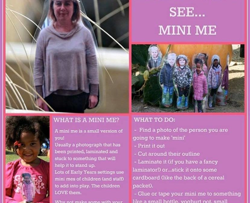 Make your very own Mini Me!